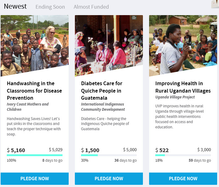 Johnson & Johnson Has Rolled Out A Crowdfunding Website To