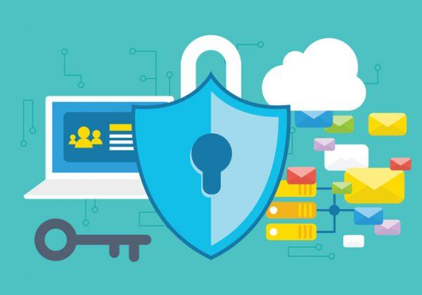 cybersecurity, security, lock, cloud, internet