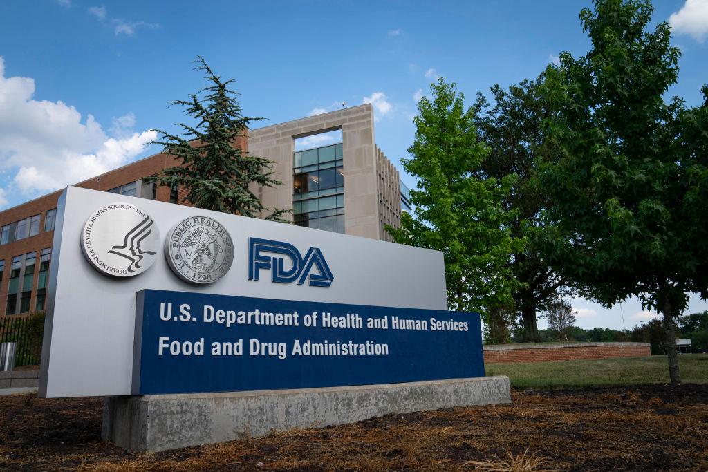 FDA sign, headquarters