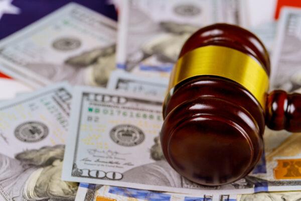 Lawsuit, sue, gavel, court, money