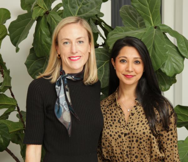 Elektra Health co founders Alessandra Henderson (left) and Janine Versi (right).