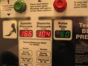 high blood pressure blood pressure monitor