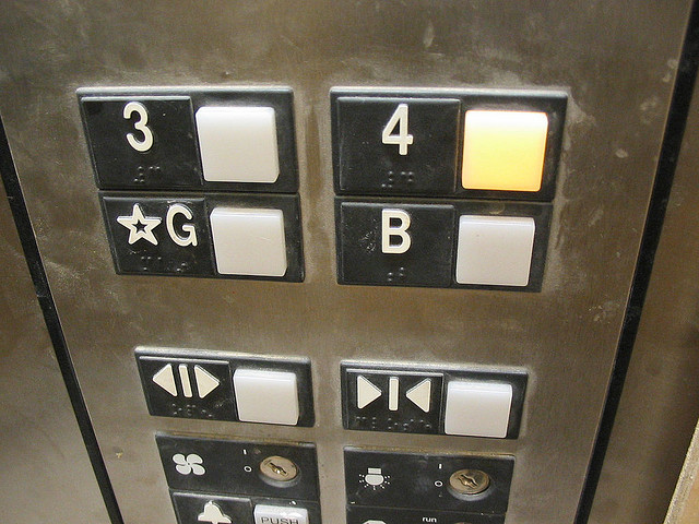 Study: Elevator buttons in hospitals contain more bacteria than toilets