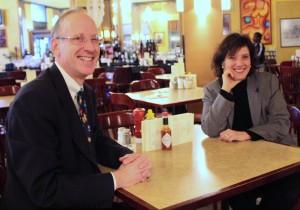 Miromatrix CEO Robert Cohen and founder Dr. Doris Taylor
