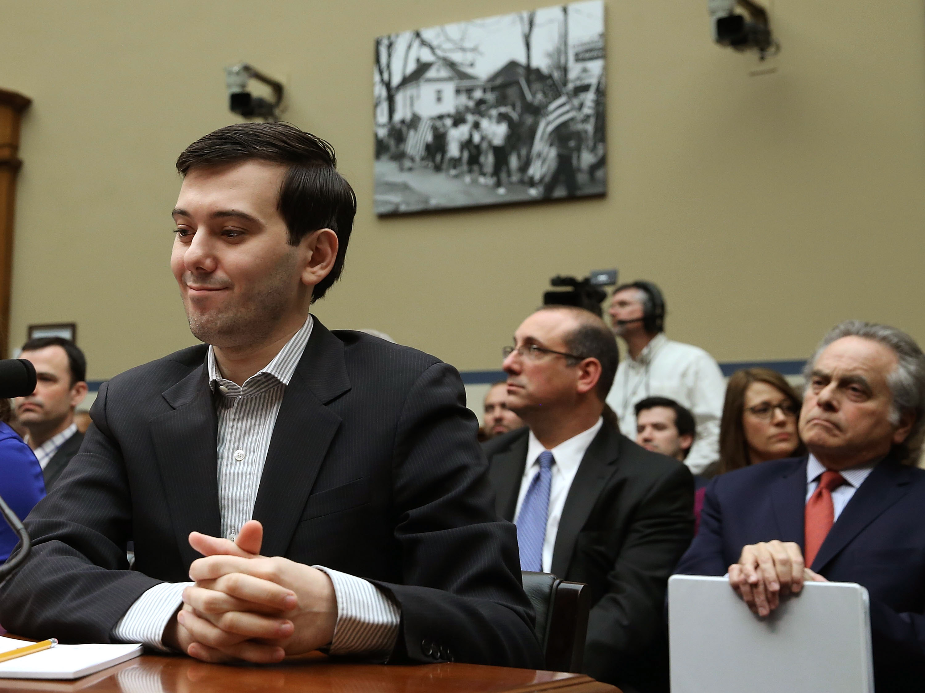 the shkreli smirk effect  5 congressional rants from today u0026 39 s drug pricing hearing