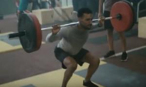 fitbit blaze weightlifting