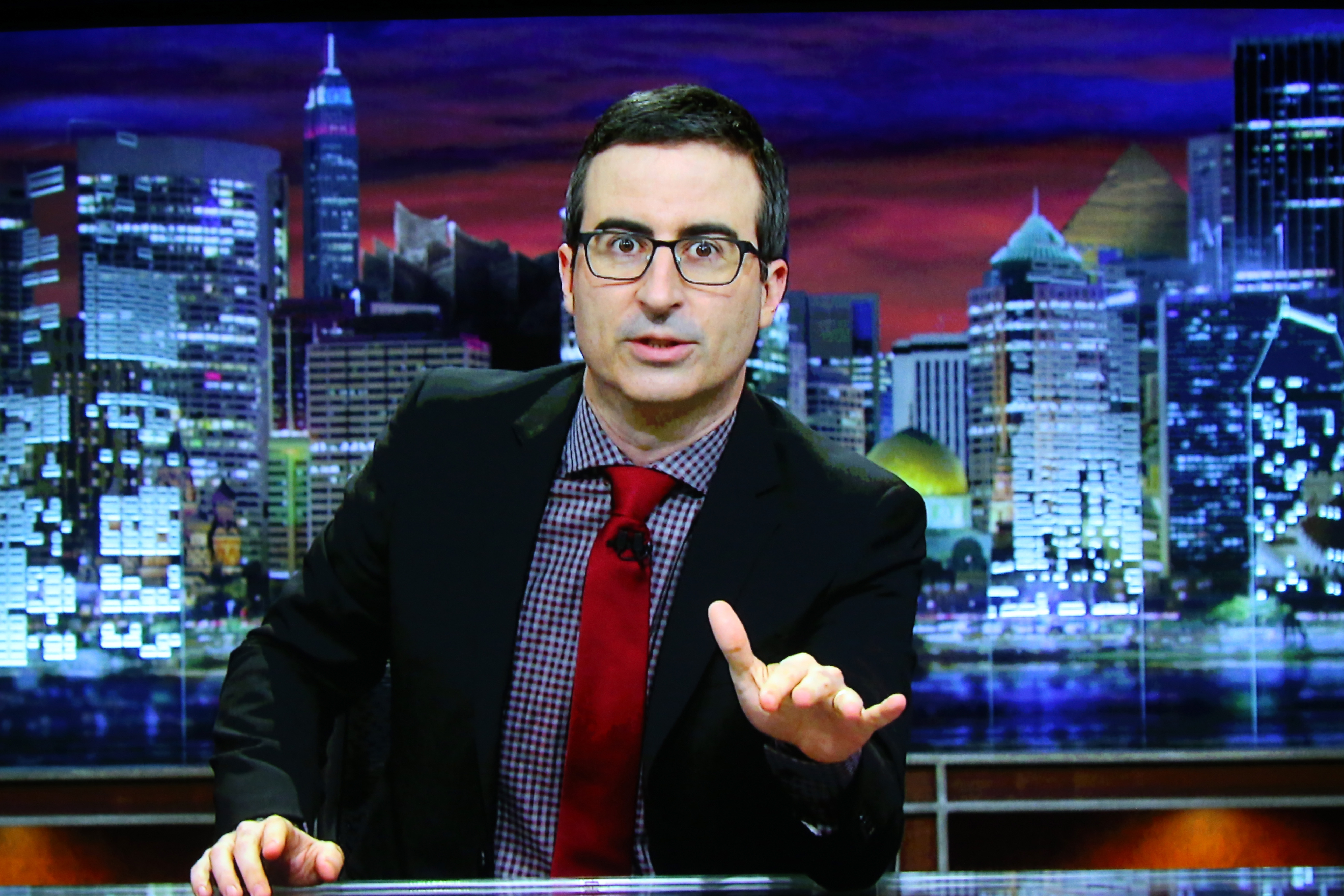 John Oliver trashes bad science and worse media coverage of it
