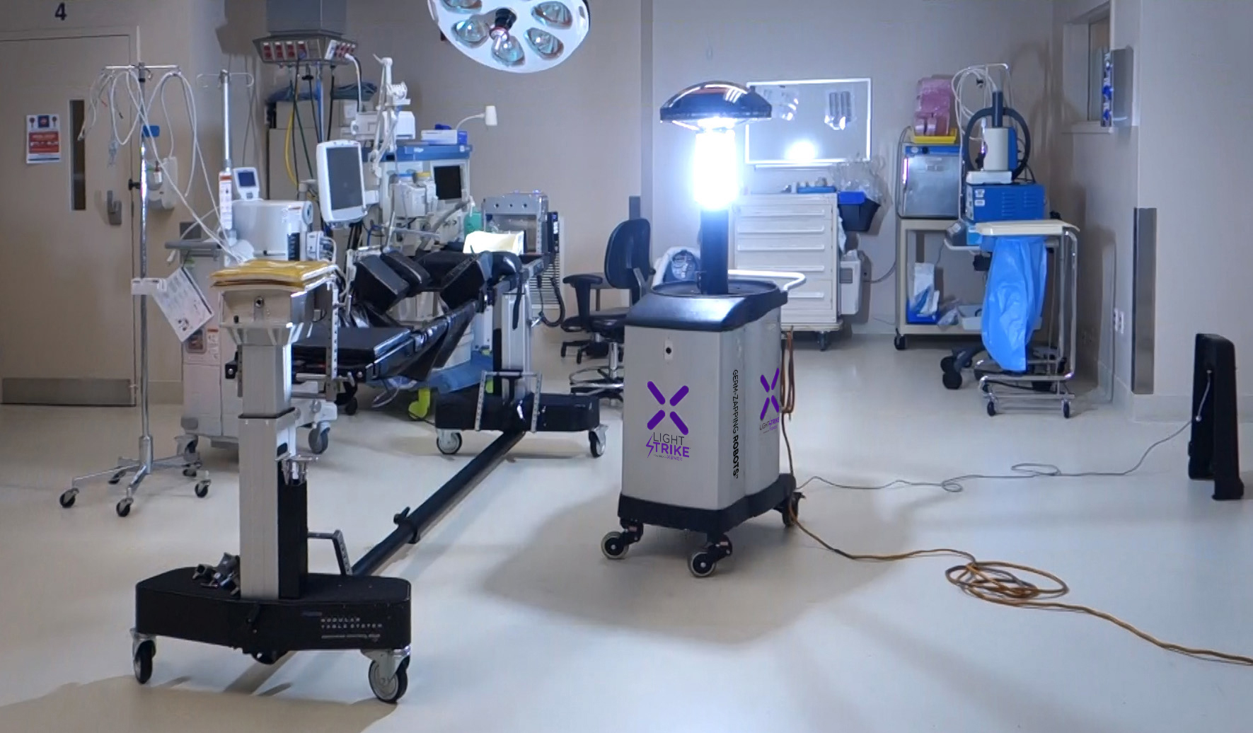 Xenex Raises 38m For Germ Zapping Robots For Research And
