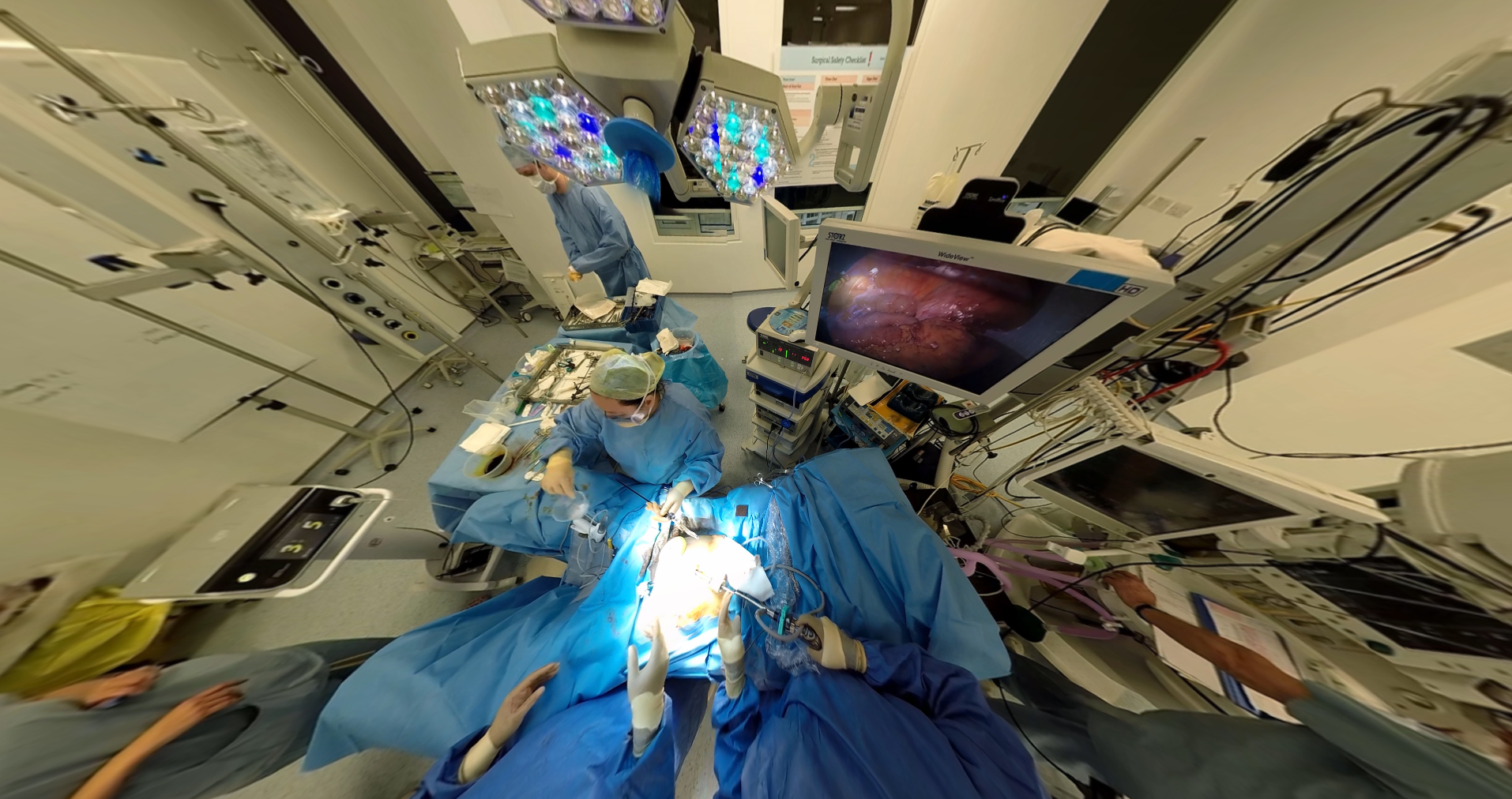 Surgical training in simulation