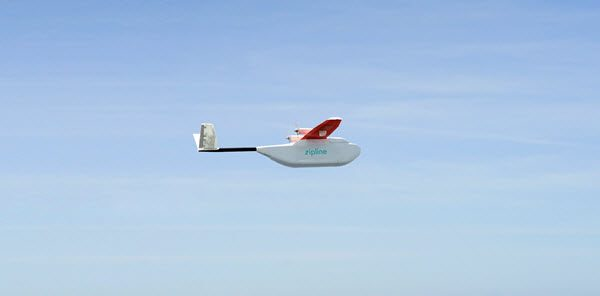 Zipline raises $25M as it prepares to launch drone delivery medical supply service in U.S.