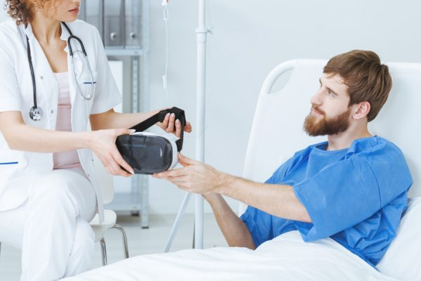 virtual reality, VR, healthcare VR, patient