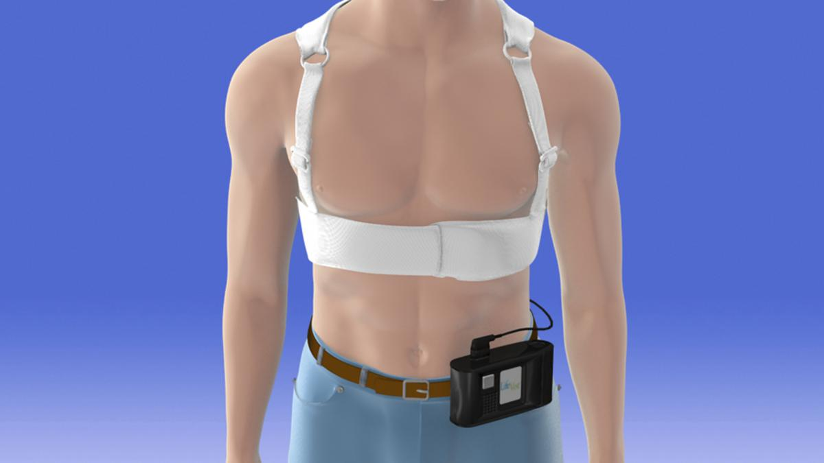 Lifevest Body Highres Tied To Zoll Wearable Defibrillator