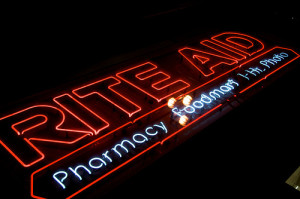 Rite Aid pharmacy sign