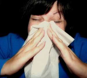 sneeze flu cold sick