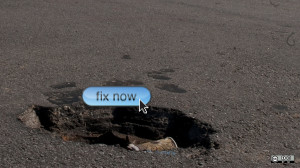 fix it repair pothole