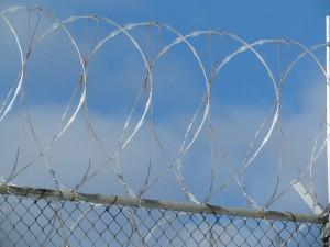 razor wire prison