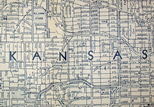 Map of Kansas City Kansas