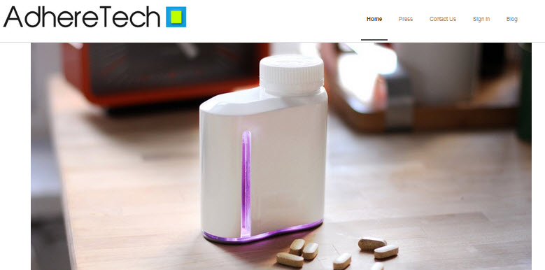 AdhereTech, the developer behind smart pill bottle technology, raises $1.75M