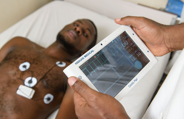 Medical tablet could connect cardiology patients with doctors in Africa