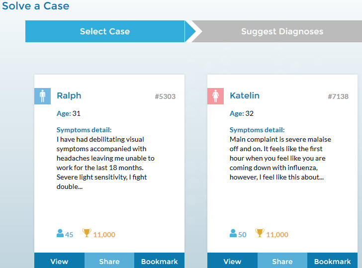 Medical detectives deal in challenging diagnoses on CrowdMed's virtual stock market