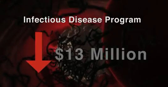 """Republican Cuts Kill"" – Attack ad blames weak Ebola response on GOP budget cuts"
