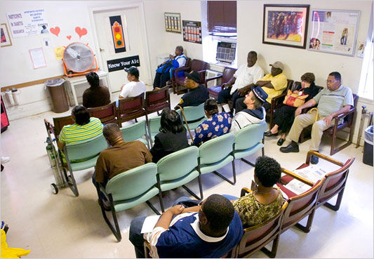 Community health centers may provide medical services for the uninsured