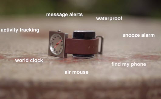 Glance is a Kickstarter project that turns any watch into a smartwatch