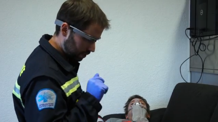 A glimpse at what prehospital emergency care might look like with Google Glass (video)
