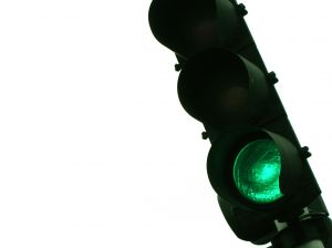 Green light, traffic signal