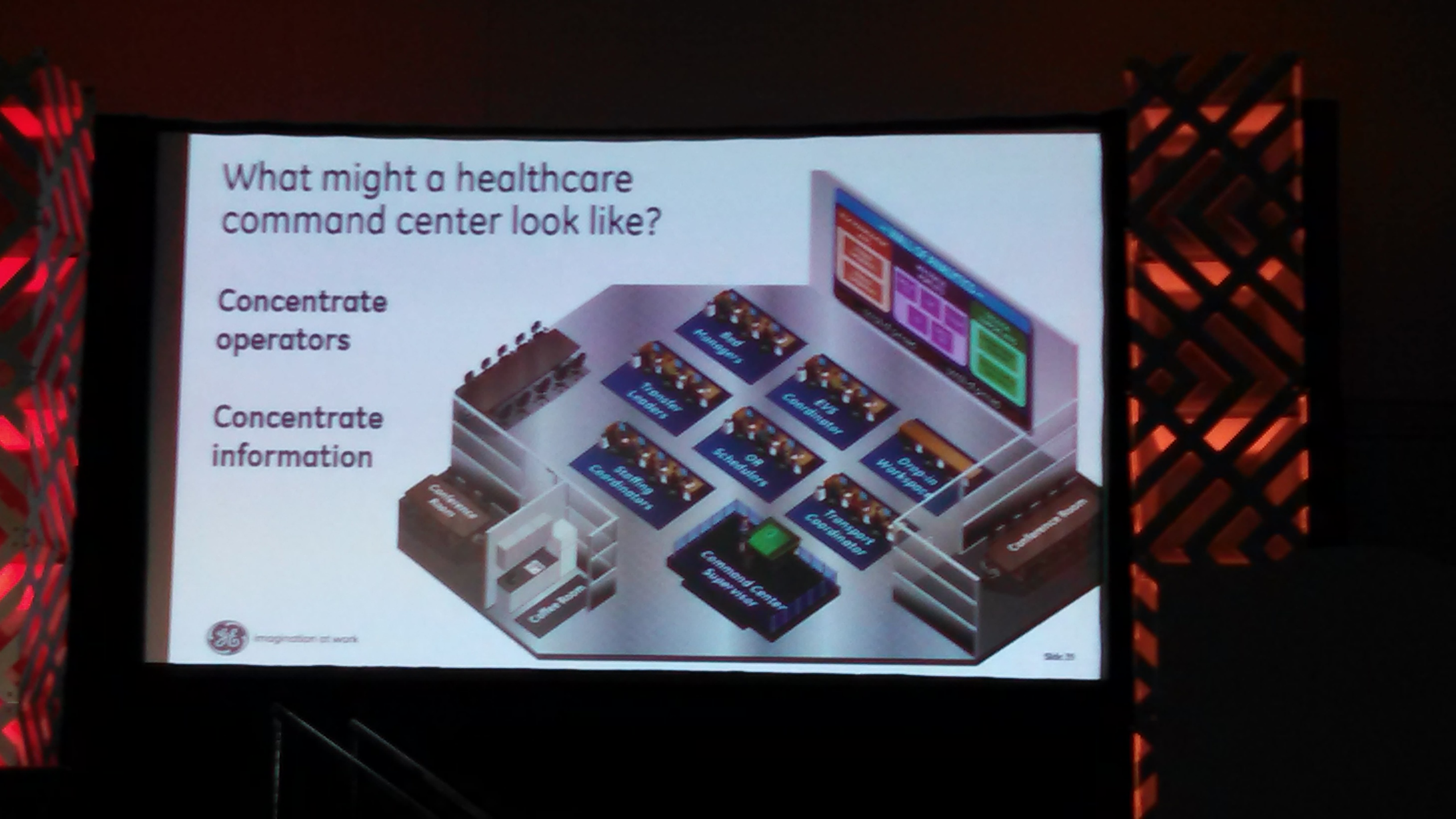How will hospital command centers make healthcare more efficient?