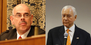 Rep. Henry Waxman and Sen. Orrin Hatch