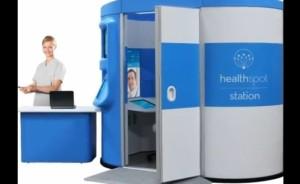 HealthSpot kiosk