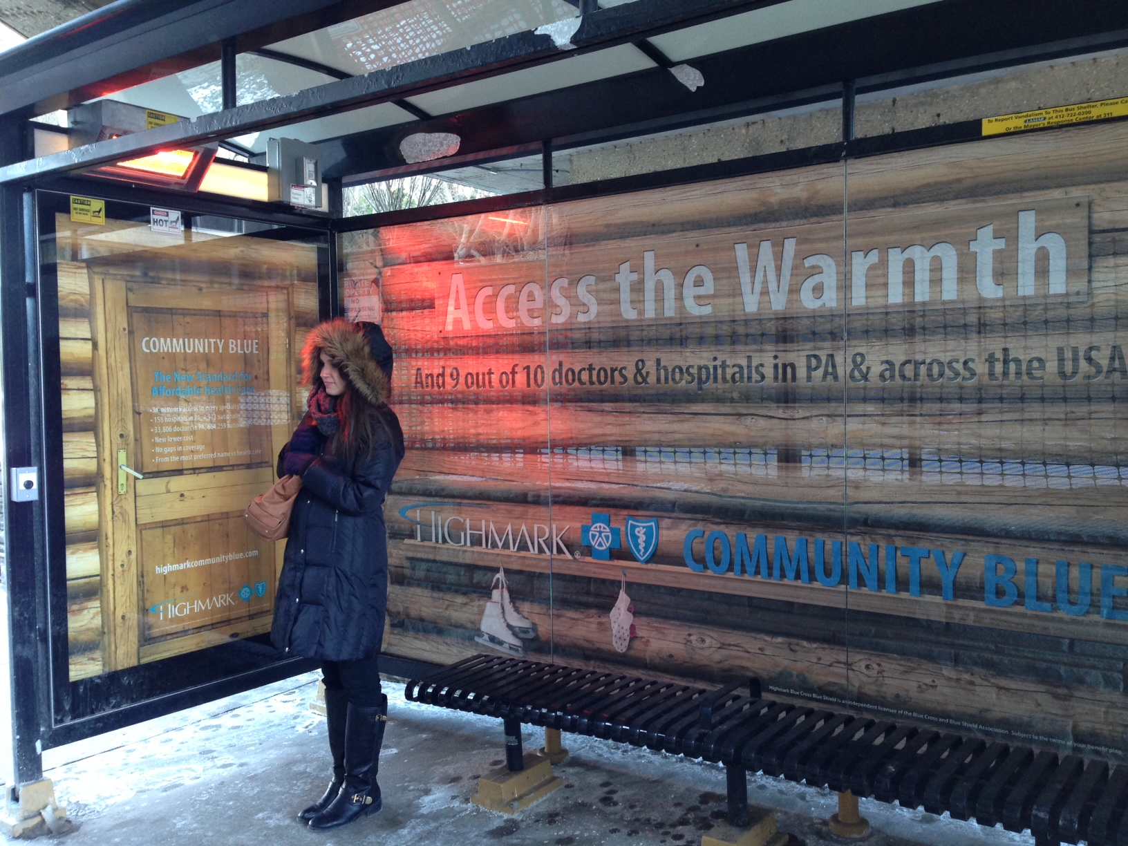 Highmark's clever marketing play: Escape the polar vortex — and then get health insurance