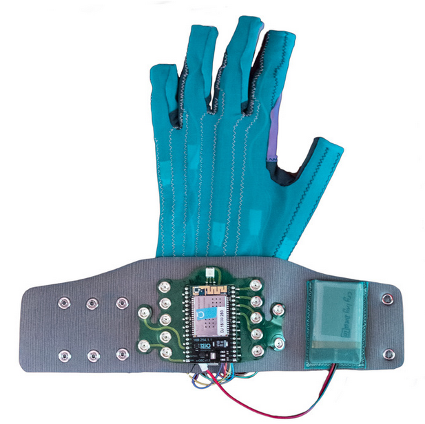Indie rocker's Kickstarter for glove that turns motion into sound has healthcare potential