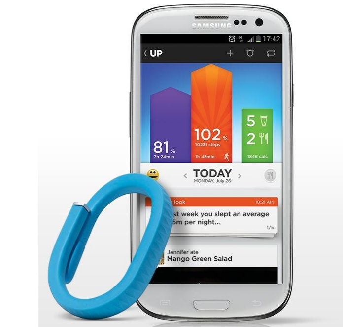 Jawbone's latest update makes food tracking less of a hassle