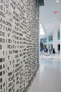 "© Jaume Plensa, ""Whispering"" 2007-2008 (Photo credit: Thom Sivo Photography)"