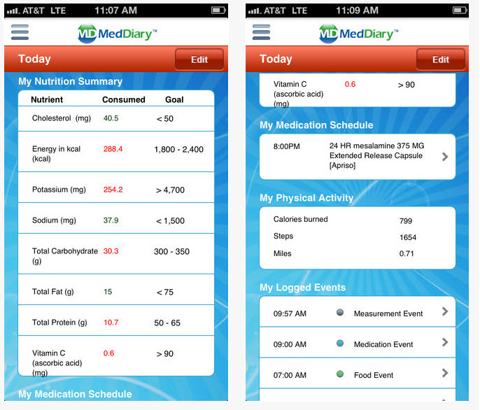 MedDiary aims customizable mobile health app at short-term users