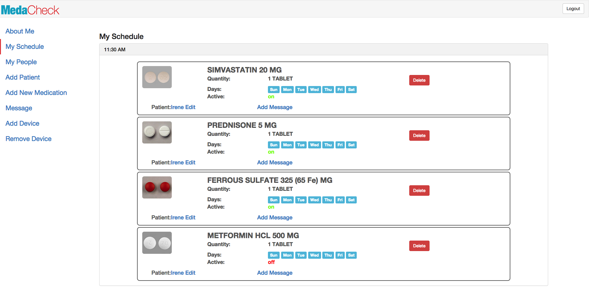 Medication adherence platform uses tablet, multiple reminders to condition seniors to take meds