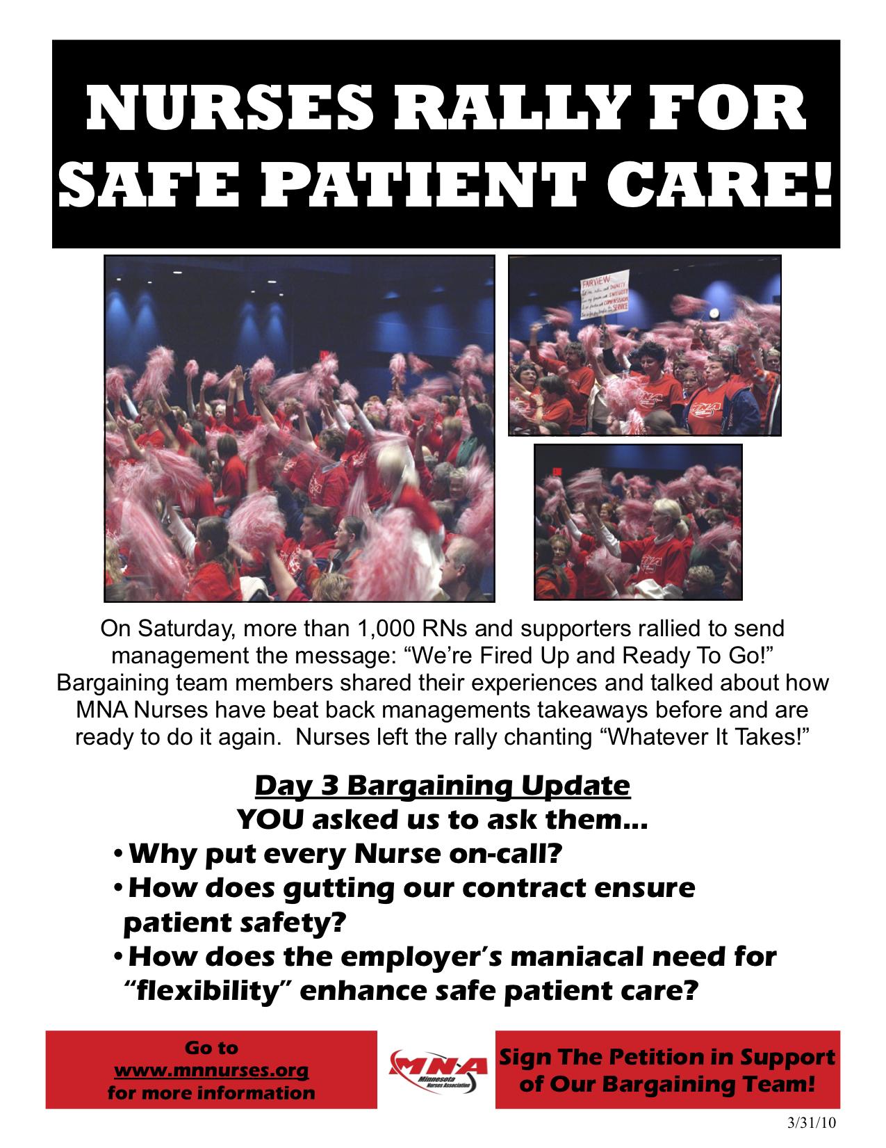 Nurses poster - MedCity News