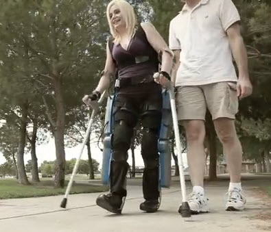 Robotics milestone: FDA clears motorized exoskeleton to help paralyzed patients walk