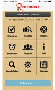 Reminderz app
