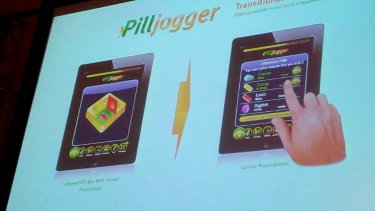 CONVERGE product demonstration: PillJogger