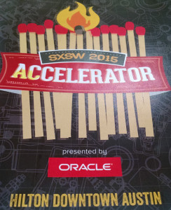 SXSW accelerator pitch art