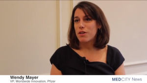 As VP for global innovation, Wendy Mayer gives Pfizer employees tools to help them 'be brave'