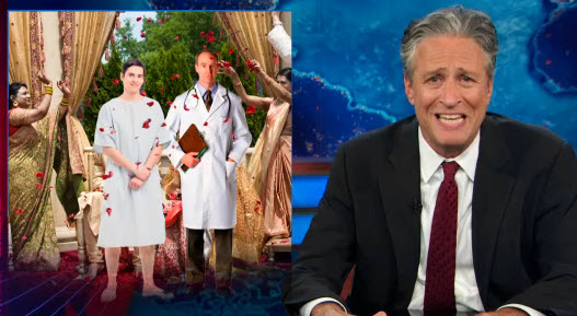 Jon Stewart patient and doctor