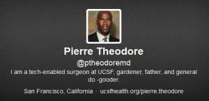 Dr. Pierre Theodore twitter