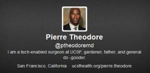Dr. Pierre Theodore twitter