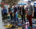 At CES, grownups got a chance to try out UnitedHealth's new game designed for kids.