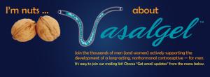 Vasalgel male contraceptive