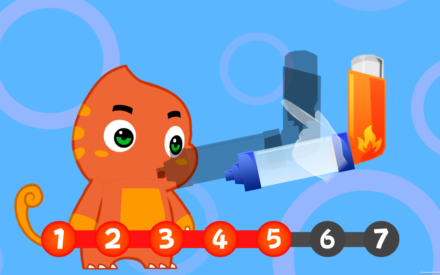 A virtual pet dragon with an inhaler teaches kids how to manage asthma in Wellapets' new app